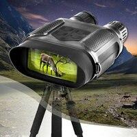 Цифровой Ночное видение бинокль для охоты 7x31 с 2 дюймов TFT ЖК дисплей HD инфракрасная камера видеокамера 1300ft/400 м диапазон обзора