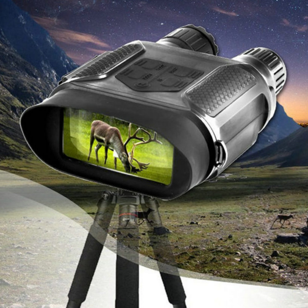 Digital Night Vision Binocular for Hunting 7x31 with 2 inch TFT LCD HD Infrared IR Camera Camcorder 1300ft/400M Viewing Range 4x50 digital night vision binocular 300m range takes 5mp photo