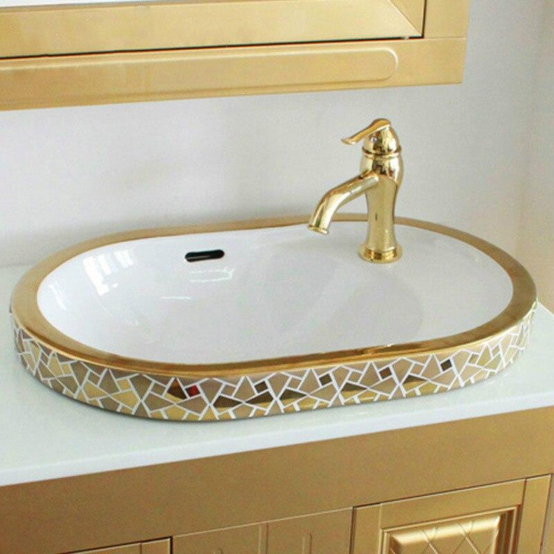 Golde Porcelain Artistic Bathroom Sink