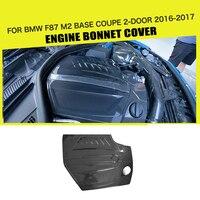 Carbon Fiber Engine Bonnet Cover Trims Car styling For BMW F87 M2 Base Coupe 2 Door 2016 2017