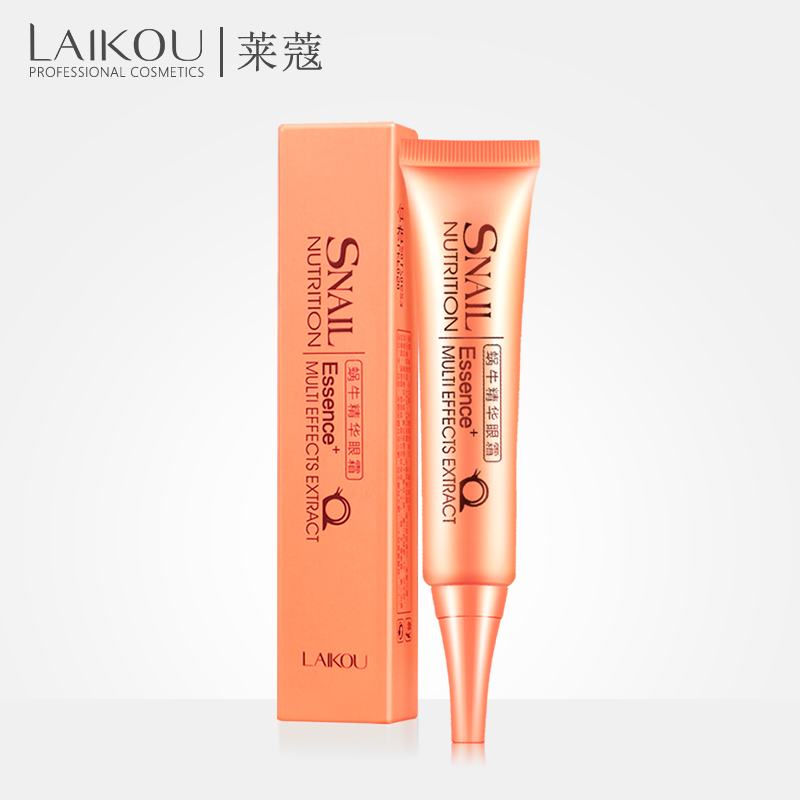 LAIKOU Snail Eye Essence Beauty Skin Care Eye Cream Faced Aging Anti Wrinkle Remove Dark Circle Eye Care