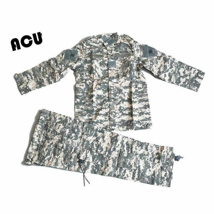 0906f4ac6925c ... Kids Hunting Clothes Camouflage Suit Military Outfit ACU Tactical  Special Forces Combat Uniforms Clothes Boy Girl ...