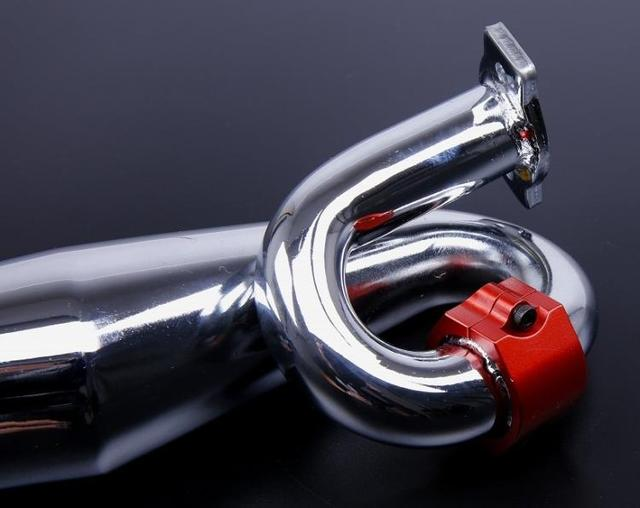 1/5 gas rc baja spare parts NEW PRODUCT Tunned pipe kits with CNC alloy clamp 85050-1