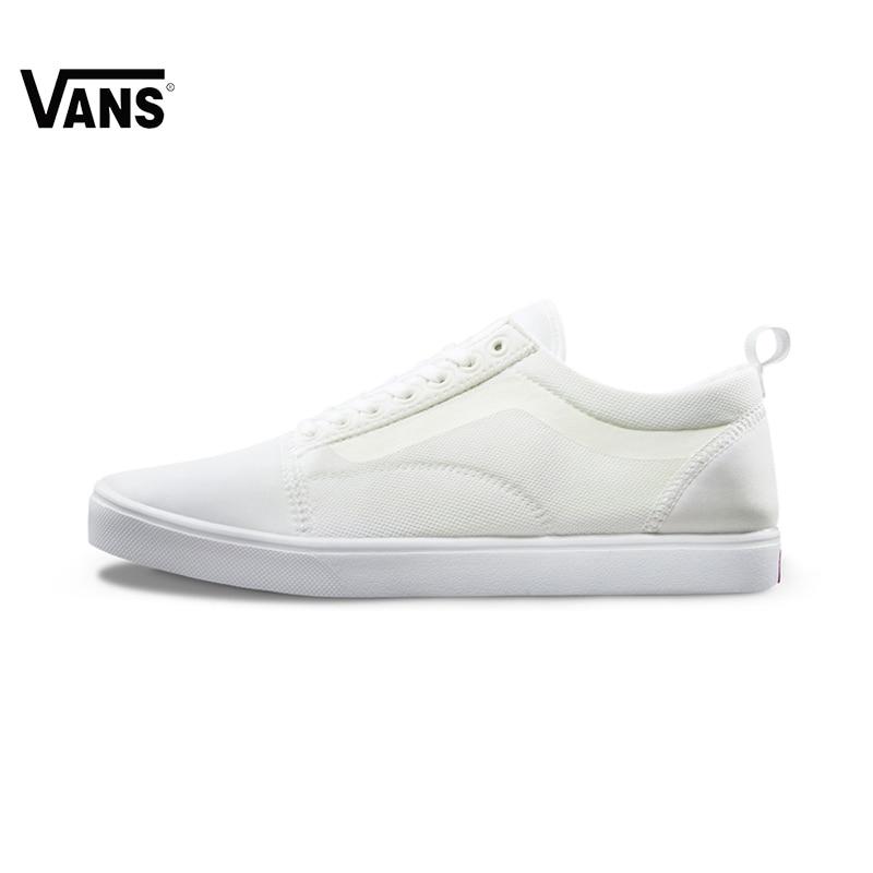 Original Vans White Color Women Skateboarding Shoes Sneakers Beach Shoes Canvas Shoes Classique original vans white color women skateboarding shoes sneakers beach shoes canvas shoes outdoor sports comfortable breathable