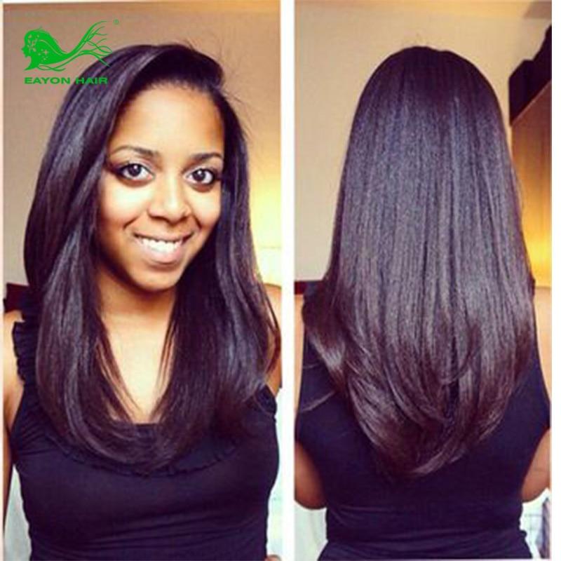 6a Brazilian Virgin Hair 3 Pcs Italian Light Yaki Human Hair
