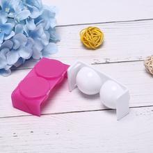 1 sztuka podwójne usta Dappen Dish do mieszania płyn do akrylu i proszek akrylowy tworzyw sztucznych narzędzia do paznokci biała róża miska kubek zestaw