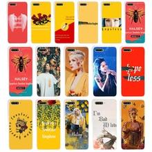 цена на 227SD Halsey Hopeless Fountain Kingdom Soft Silicone Tpu Cover Case for huawei Honor 7c 7x 7a pro 7x P20 Nova 2i 3i