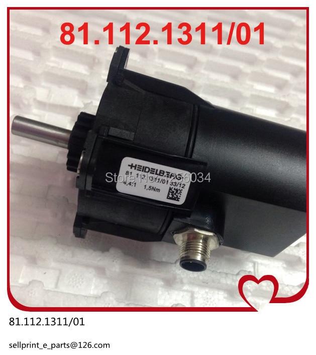 2 pieces 2015 lasteat 81.112.1311/01 motor for CD102 and SM102 heidelberg machine, heidelberg printing machinery parts
