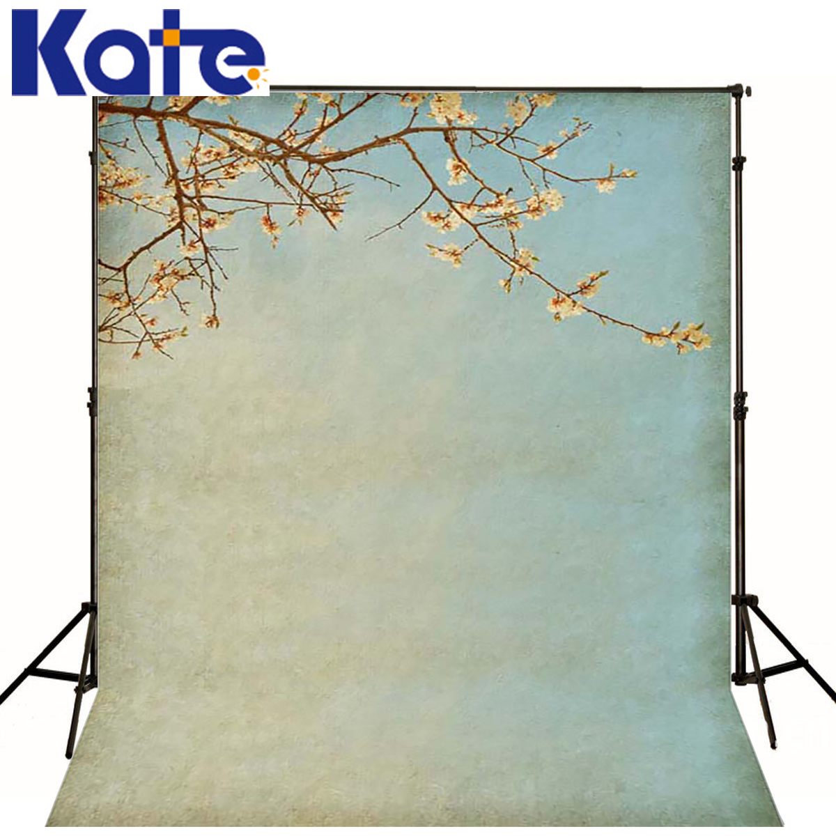 Photo Background Withered Branches Photography Background Newborn Peach Blossom Background Customize Backdrop