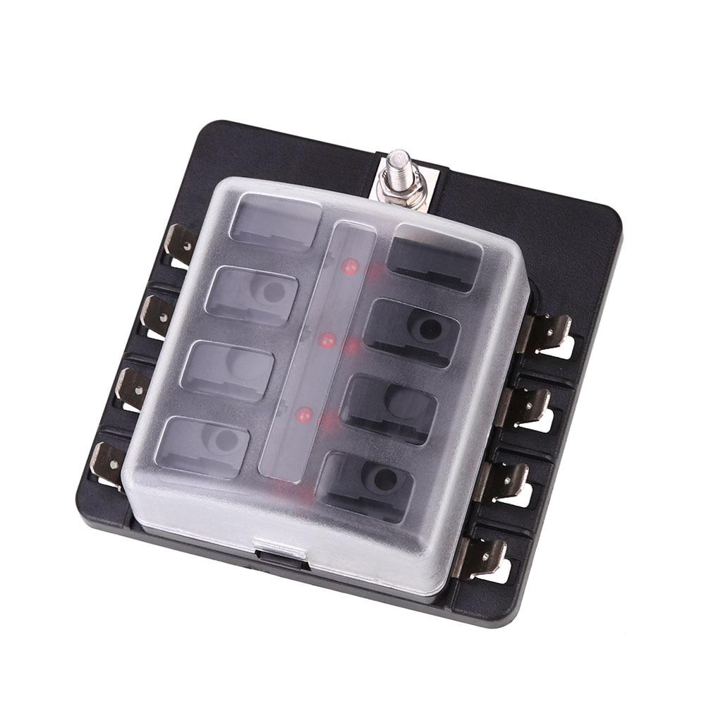 vehemo fuse box 8way indicator light fuse kit safety pc. Black Bedroom Furniture Sets. Home Design Ideas