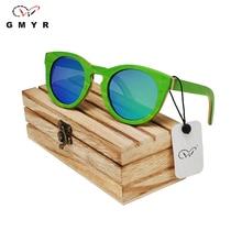 Круглые деревянные солнцезащитные очки Скейтборд многоцветная 6 цветов рамка  резьба по дереву изделия из дерева дерево солнцезащитные очки женщины