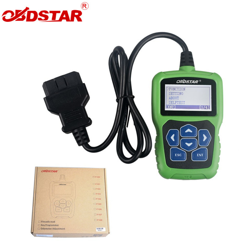 OBDSTAR F100 F-100 For Mazda/For Ford Auto Key Programmer No Need Pin Code Support New Models and Odometer цена