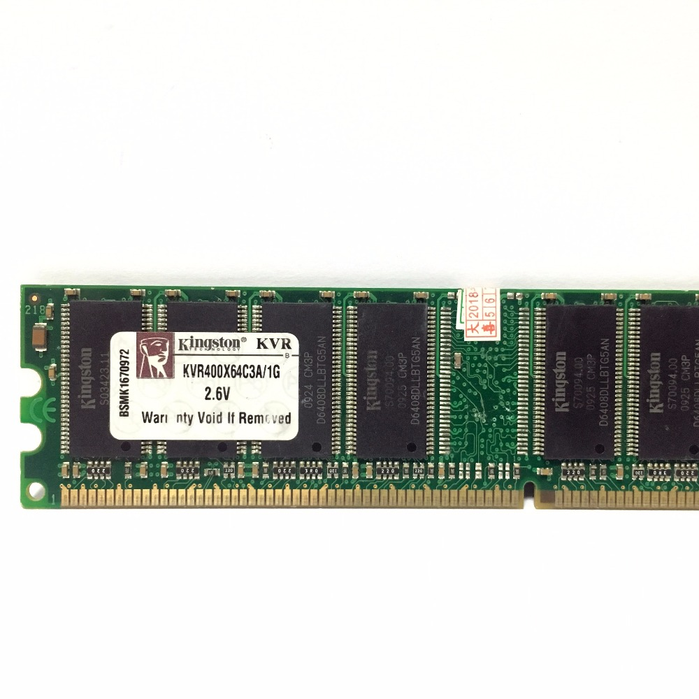1x DDR1 400 1GB Memory Module For Desktop US