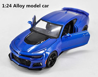1:24 Advanced alloy car models,high simulation Chevrolet Comero model,metal diecasts,collection toy vehicles,free shipping