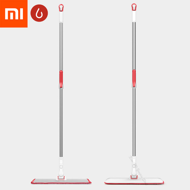 Xiaomi Mijia YJ Adjustable Rotary Multi-Function Flat Mop Microfiber Mop Flexible Operation For Home office Daily Cleaning