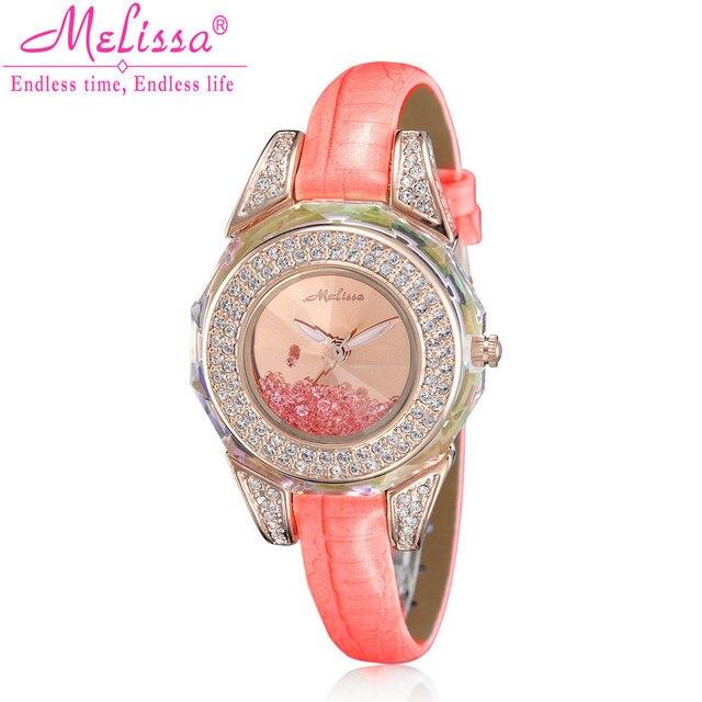 53f34a23801 Luxo Senhora Relógio de Quartzo de Japão das Mulheres Elegante Strass  Cristal Moda Horas Vestido de