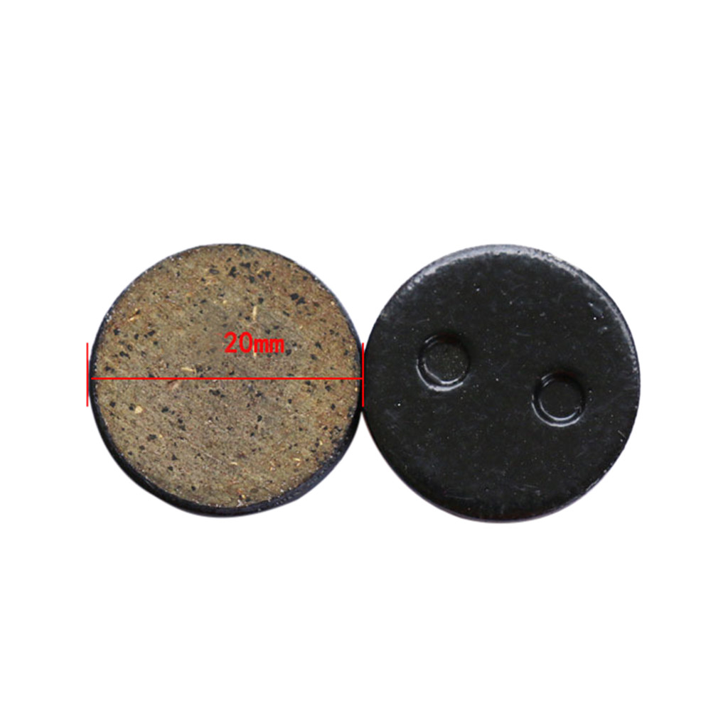 2pcs Brake Pads Rear Wheel Friction Plates For Xiaomi Mijia M365 Electric Scooter 2019 New Arrival Fashion