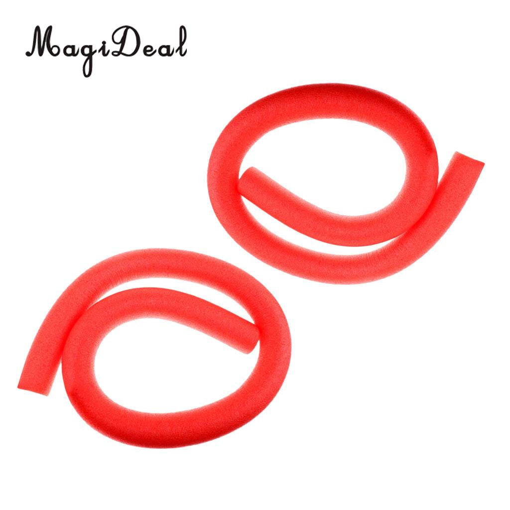 MagiDeal 2Pcs Durable Flexible Swimming Pool Noodle Float Water Buoy for Beach, Pool, Fun, Lake, Surfing, Swim Learning Aid