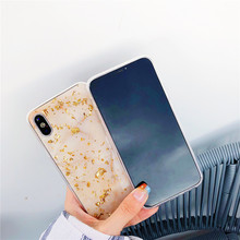 Gold Foil Bling Marble Phone Case For Huawei P20 Lite P10 P Smart Nova 3 2s Soft TPU Coque Honor 7C V9 V10 Y9 2018 Glitter Cover