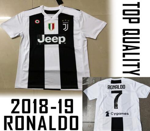 c13fd2e1f best quality Serie A patch Juventuses RONALDO DYBALA 18 19 HIGUAIN soccer  jersey football 2018 shirt size Free shipping-in T-Shirts from Men s  Clothing ...