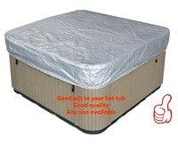 Free Shipping Hot Tub Cover Cap Prevent Snow Rain Dust 213x213x30cm84 X 84 X 12 Can