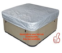 free shipping hot tub cover cap prevent snow, rain&dust, 213x213x30cm84 x 84. x 12 ,can customize spa, swim spa cover bag