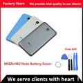 M2 originais nota 5.5 polegada sim card bandeja da bateria tampa traseira porta case para meizu m2 note substituição de habitação, Lente da câmera + Botões