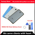 Original M2 note 5.5 inch SIM Card Tray Battery Back Cover Door case For Meizu M2 Note housing replacement, Camera Lens+ Buttons