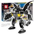 394 ШТ. SY353 Бела Бэтмен супергерои Гориллы Grodd Попадает Бананы Модель строительство Вспышки Капитан Кирпичи Совместимы С Lego