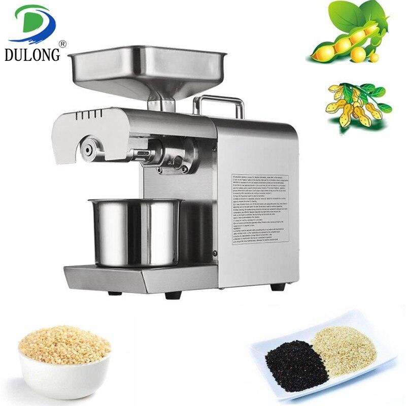 Presse à huile de sésame noir blanc automatique machine de traitement d'huile d'arachide machine d'extraction d'huile de soja extracteur d'huile à la maison