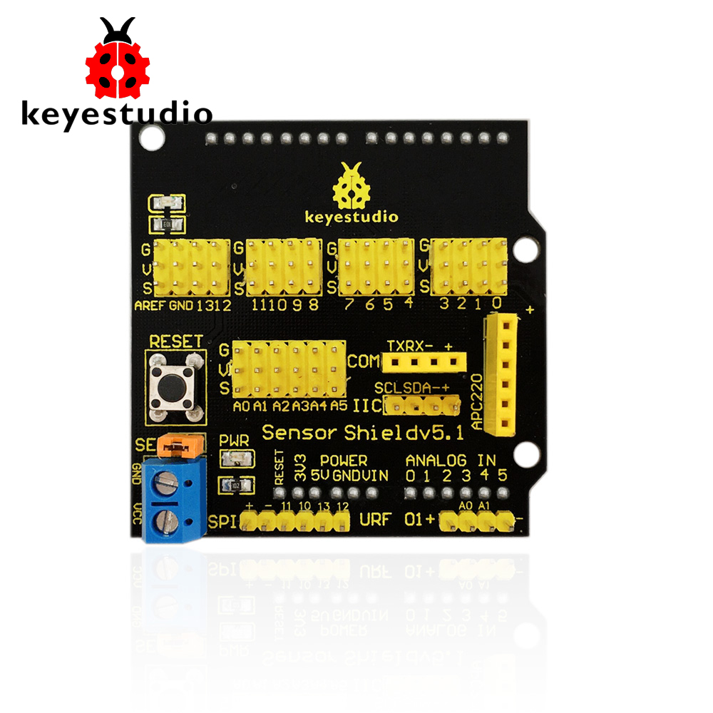Free Shipping Consumer Electronics Keyestudio Uno R3 Breadboard Kit For Arduino Education Project With Dupont Wire+led+resistor+pdf Smart Electronics