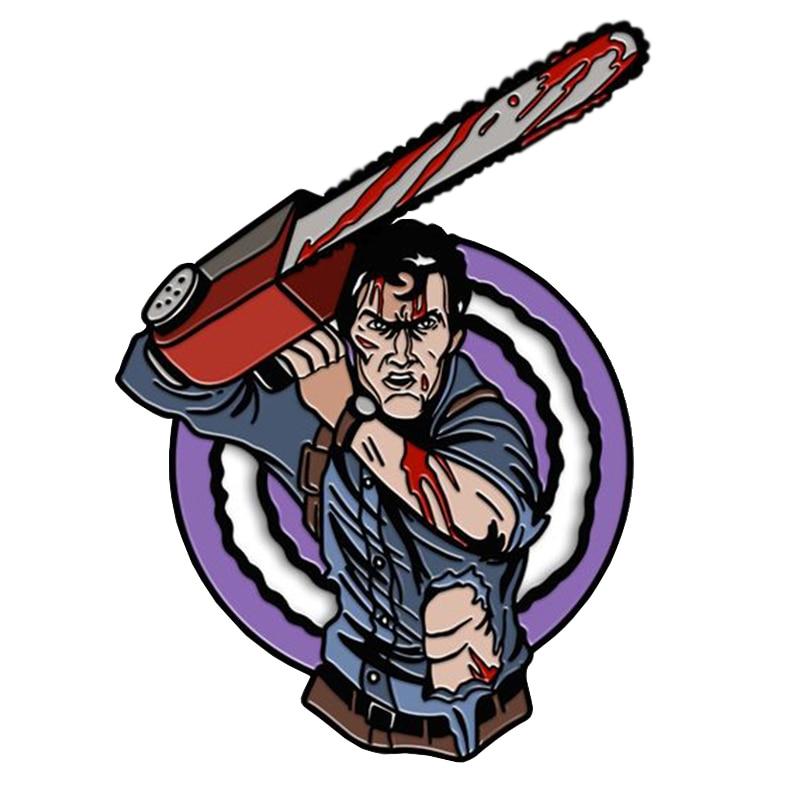 Hero Ash Enamel Pin