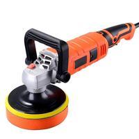 Car Polisher Waxing Mini Polishing Machine Car Polisher Sanding Machine Orbit Polish Adjustable Speed Sanding Waxing Power Tools