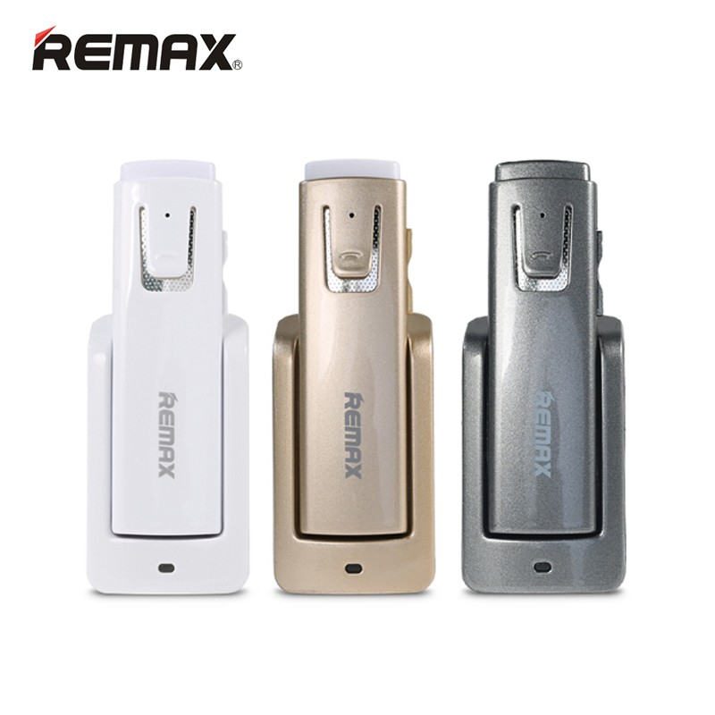 Remax RB-T6 Long Standby Wireless Bluetooth Headset Music Headphone Car Driver Handsfree Earphone With Intelligent Charging Base remax rb t11c t11c mini bluetooth earphone usb car charger dock wireless car earphone bluetooth earphone for iphone7 android