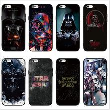 FATPERSON STAR WARS COMIC DARTH VADER YODA art design Black phone case for iphone 5 5S SE 6 6S 7 8 Plus 10 X Cover shell