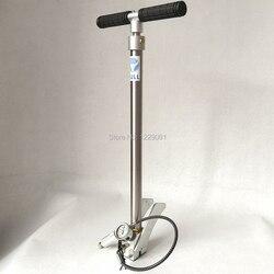 Bomba de mano plegable BULL pcp de alta presión, 3 etapas, 300 bar, 30 mpa, 4500psi, con fijador de aire