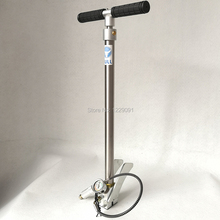 Folding style BULL pcp hand pump high pressure 3 Stage 300 bar 30 mpa 4500psi with air fitler