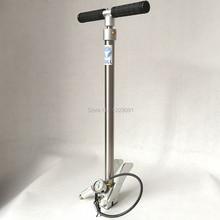 Pieghevole di stile BULL pcp pompa a mano ad alta pressione 3 Fase 300 bar 30 mpa 4500psi con aria fitler