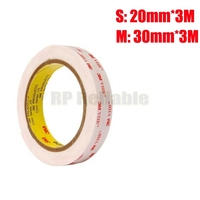 1 1mm Thick Very High Bond 3M VHB 4945 Acrylic Foam Double Sided Adhesive Tape