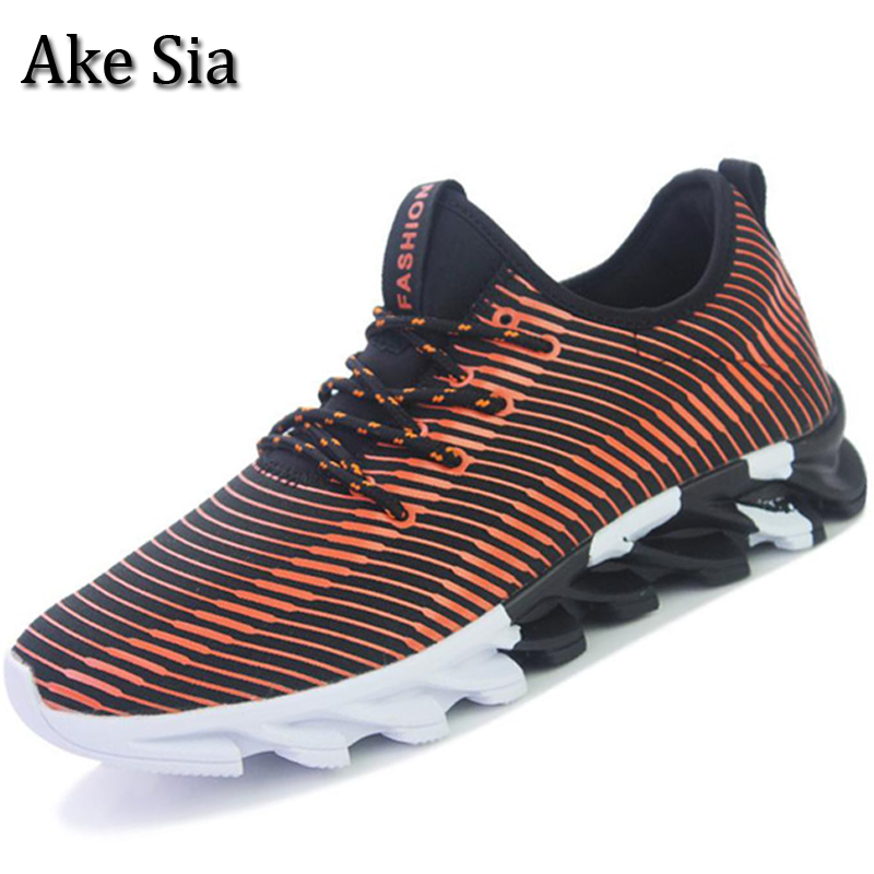 Ake Sia HOT SELLING Men Spring Autumn Fashion Casual Breathable Jogging Sneakers Male Hombre Flat Zapatos Shoes Chaussures F103 2017 spring and autumn hot selling women s comfortable diabetic shoes foot swollen foot care shoe breathable flat bunion shoes
