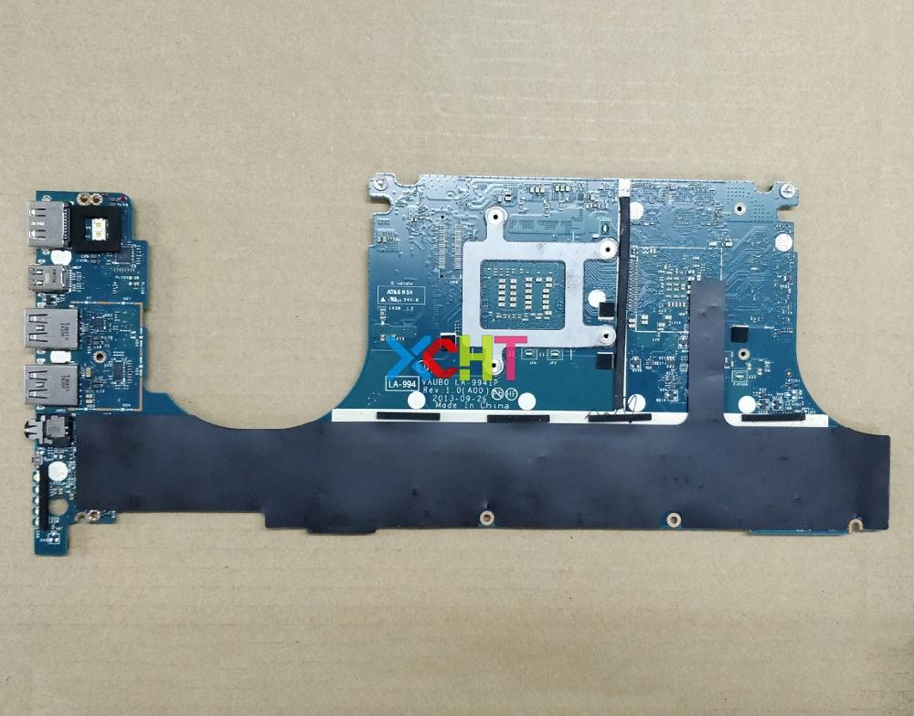 Image 2 - for Dell XPS 15 9530 T37HN 0T37HN CN 0T37HN VAUB0 LA 9941P i7 4712HQ N14P GT A2 GT750M Laptop Motherboard Mainboard Tested-in Laptop Motherboard from Computer & Office