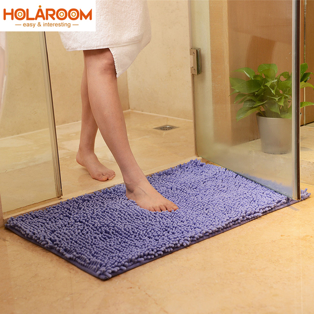 15 Color Microfiber Doormat Soft Shaggy Mat Comfortable Material