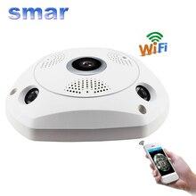 Smar 3D VR Камеры 360 Градусов Панорамный Ip-камера 960 P 1.3MP беспроводной Wi-Fi Камера Рыбий глаз Слот Для Карты SD Multi Режиме Просмотра