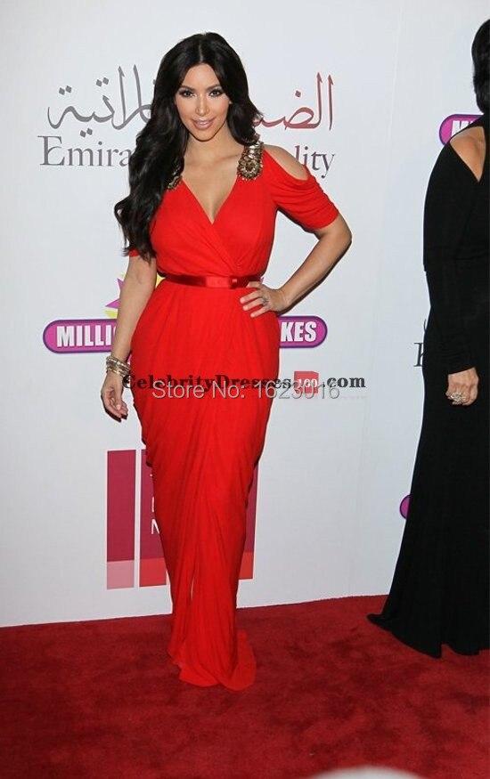 2014-Kim-Kardashian-Celebrity-Dresses-Mermaid-V-neck-Floor-Length-Red-Slit-Chiffon-Long-Red-Carpet (2).jpg