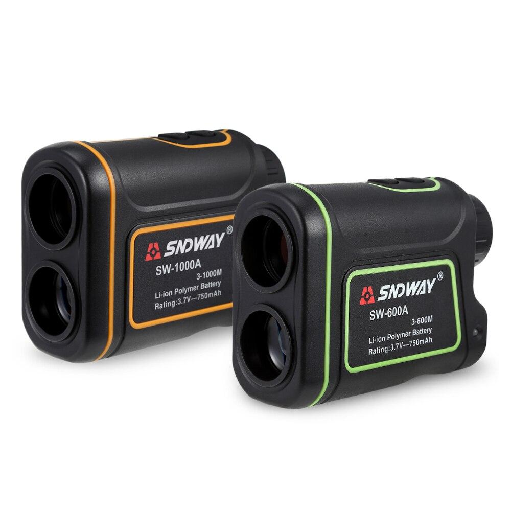 SW   600A Laser Distance Meter 600M/1000M Telescope Distance Handheld Monocular Meter for Hunting Golf Laser Range Finder|Laser Rangefinders| |  - title=