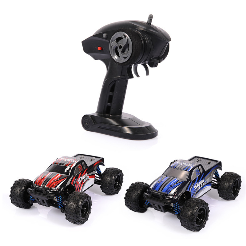 2017 Newest Full-ratio Four-wheel Drive 2.4G 40MKH Remote Control High-speed Car 1:18 Desert Racing Remoto Drift Car Toys top high speed full teeth piston