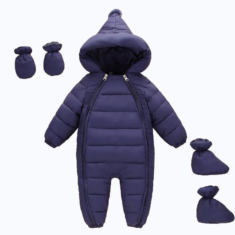 Baby Clothing Set For Newborn Baby Boys Hooded Rompers Children Cotton Costumes Kids Winter Overalls Infant Girls Jumpsuit Suits baby boys rompers infant jumpsuits mickey baby clothes summer short sleeve cotton kids overalls newborn baby girls clothing