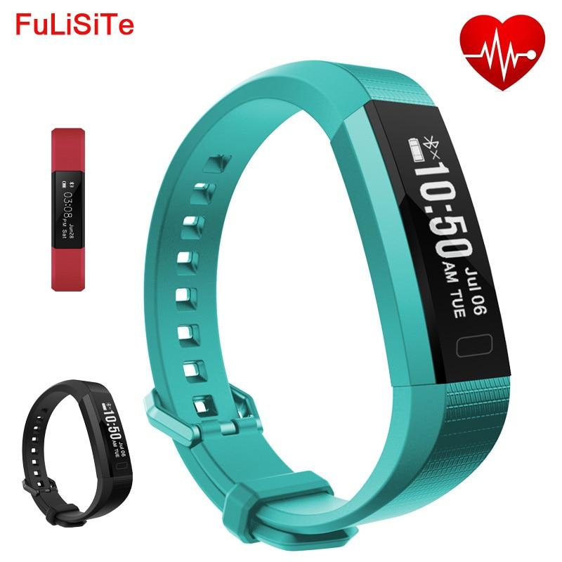 Smart Band Heart Rate Vibrating Alarm Watch Bluetooth 4 0 Phone Bracelet USB Charge Waterproof Wristband