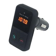 Manos Libres Inalámbrico Bluetooth Car Kit Reproductor de MP3 FM Del Modulador Del Transmisor SD LCD USB Reproductor de Música Coche Teledirigido del transmisor