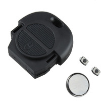 2 Пуговицы ремонт Ключи для nissan micra almera Primera X-Trail дистанционного брелока ремонт КИТ